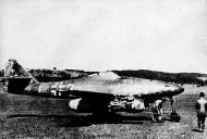 Asisbiz Messerschmitt Me 262A1aR1 7.JG7 (W3+I) Hans Guido Mutke WNr 500071 Zurich Dubendorf Germany Apr 25th 1945 01