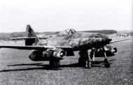 Asisbiz Messerschmitt Me 262A1aR1 7.JG7 (W3+I) Hans Guido Mutke WNr 500071 Zurich Dubendorf Germany Apr 25th 1945 03