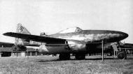 Asisbiz Messerschmitt Me 262A1aR1 7.JG7 (W3+I) Hans Guido Mutke WNr 500071 Zurich Germany 1949 01