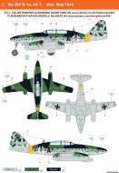 Asisbiz Messerschmitt Me 262B1a JG7 Black A May 1945 0A