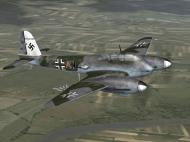 Asisbiz IL2 PG Me 410B 5.(F)121 (7A+AN) Denmark 1945 V0A