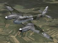 Asisbiz IL2 PG Me 410B 5.(F)121 (7A+AN) Denmark 1945 V0B