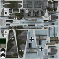 Asisbiz IL2 PG Me 410B 5.(F)121 (7A+AN) Denmark 1945