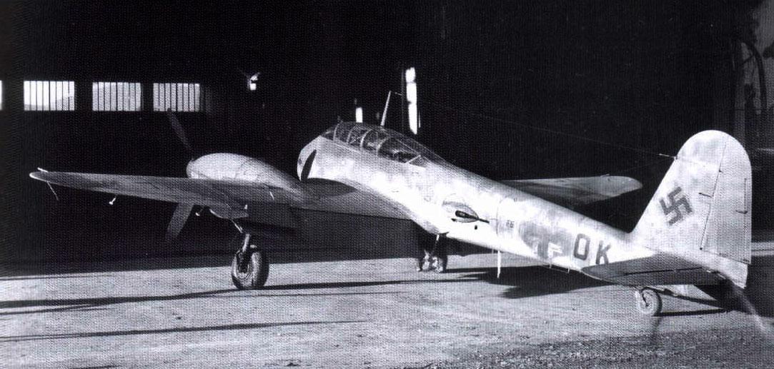 Messerschmitt Me 410A Hornisse 2.(F)122 (F6+OK) Italy 1944 03