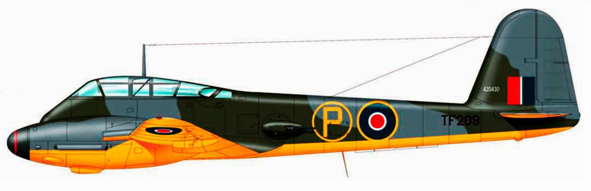 Messerschmitt Me 410A Hornisse WNr 420430 RAF TF209 Farnbourough 1944 0A
