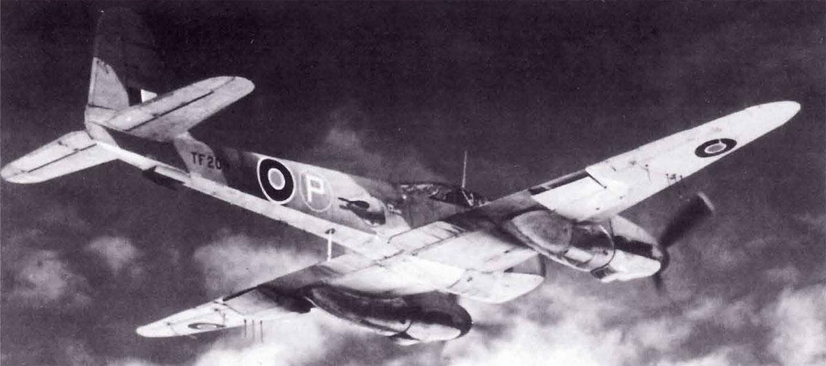 Messerschmitt Me 410A3 Hornisse 2.(F)122 TF209 RAF 1944 03