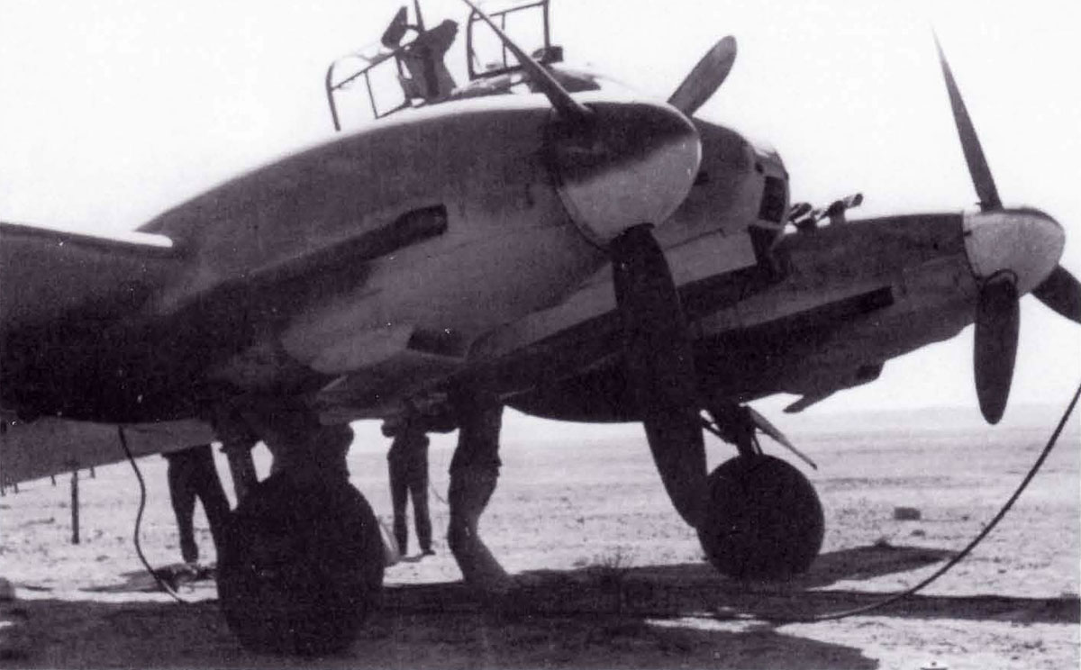 Messerschmitt Me 210C Hornisse Stab III.KG1 (2N+CD) Sicily 1943 01