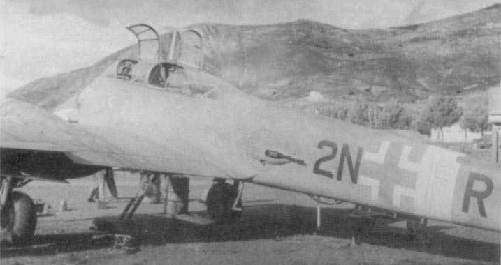 Messerschmitt Me 410A Hornisse 7.KG1 (2N+FR) Tunisia 1942 01