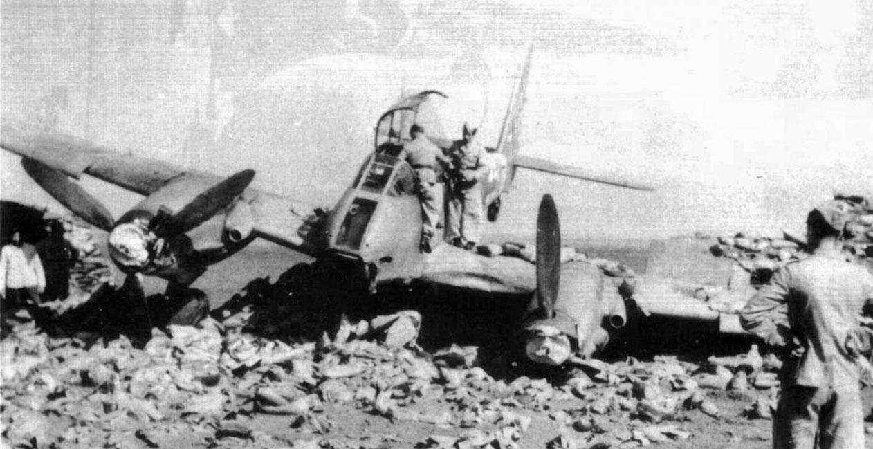 Messerschmitt Me 410A Hornisse 9.KG1 (2N+LT) Sicily 1943 02