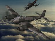 Asisbiz IL2 IM Me 410B Hornet 5.KG2 (U5+FE) France 1944 V0A