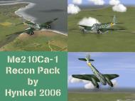IL2 HK Me 210Ca 1 Hornet generic Aufklarer recon units V0A