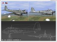 Asisbiz IL2 VP Me 210 Hornet generic camouflage Grey V0A