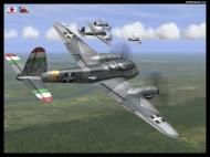 Asisbiz IL2 VP Me 210 Hornet generic camouflage Hungary V0A
