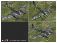 Asisbiz IL2 VP Me 210 Hornet generic camouflage V0A