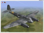 Asisbiz IL2 VP Me 210 Hornet generic eastern front camouflage V0A