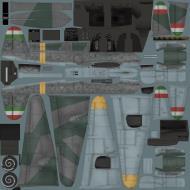 Asisbiz IL2 VP Me 210C Hornet RHAF RKI (Z0+63) Hungary 1944 NM