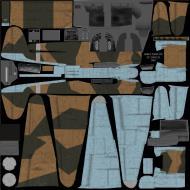 IL2 ZS Me 210C Hornet 3.ZG26 (3U+UL) Sicily 1943 NM