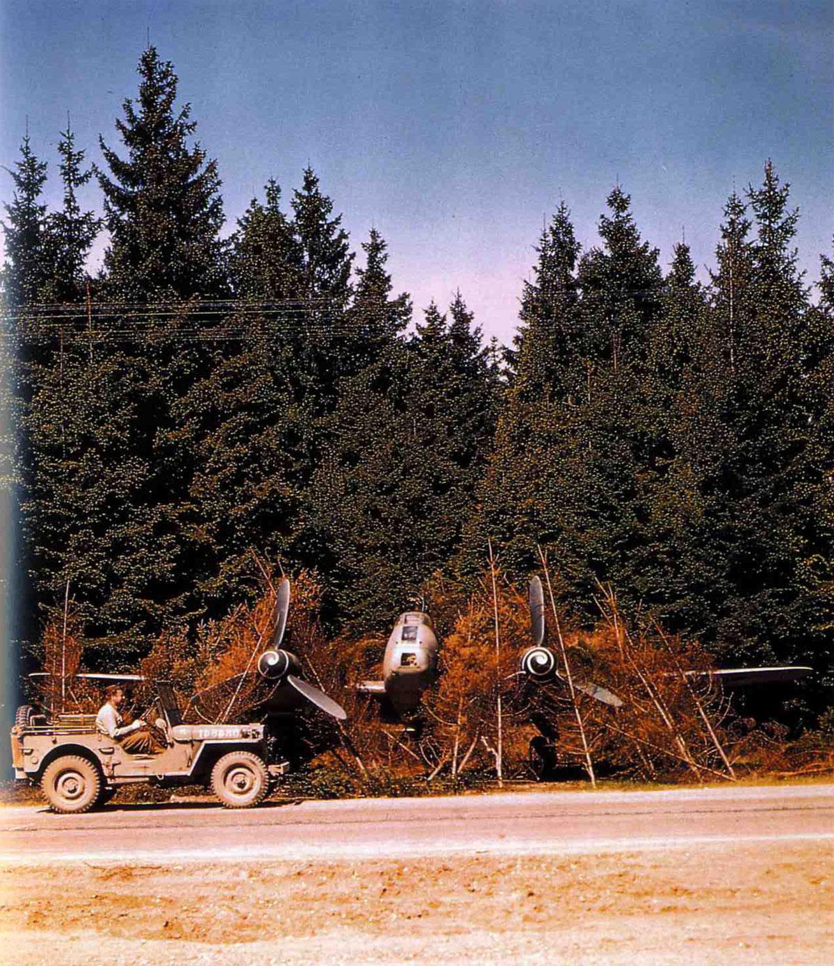Messerschmitt Me 210 captured Germany 1945 01