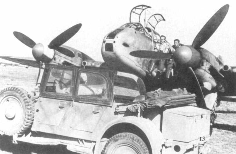 Messerschmitt Me 210A Hornisse 02