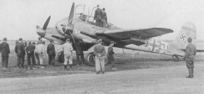 Messerschmitt Me 210A Hornisse 06