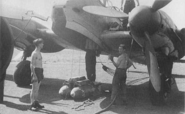 Messerschmitt Me 210A Hornisse 09