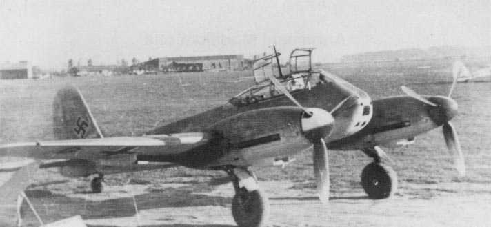 Messerschmitt Me 410 Hornisse 01