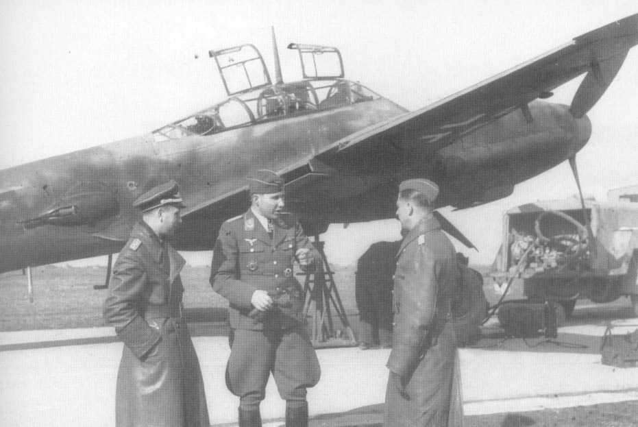 Messerschmitt Me 410 Hornisse 06