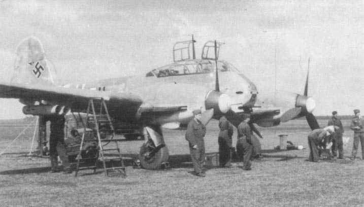 Messerschmitt Me 410 Hornisse 08