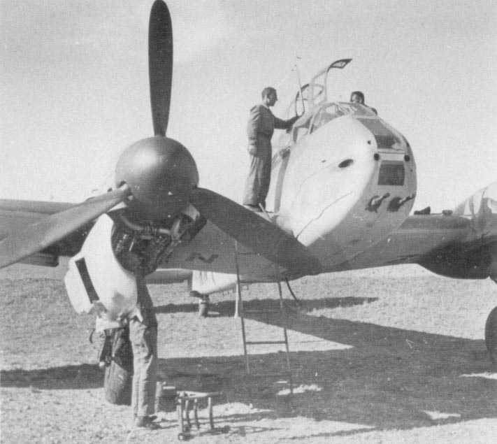 Messerschmitt Me 410 Hornisse 11