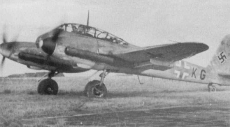 Messerschmitt Me 410A Hornisse ( +KG) 01