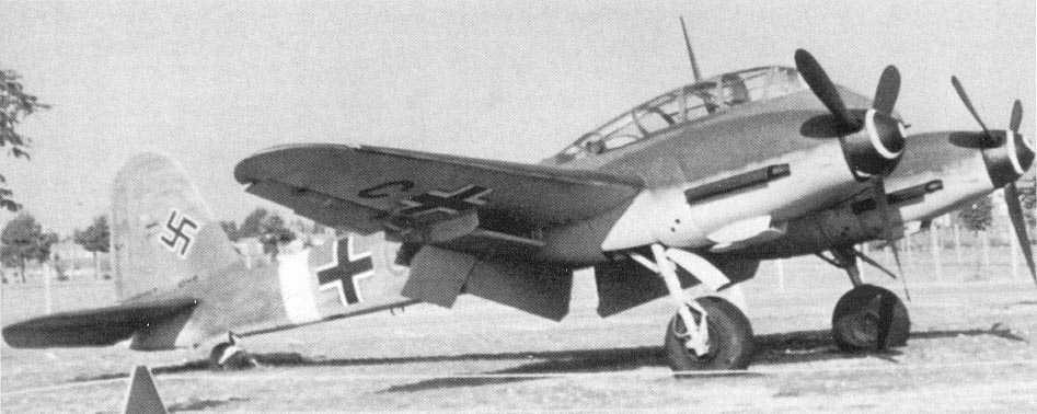 Messerschmitt Me 410A Hornisse 01