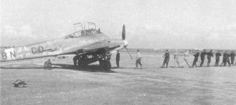 Messerschmitt Me 410A Hornisse Stkz BN+CO 01