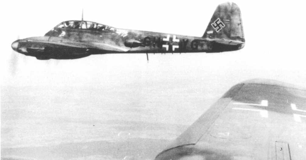 Messerschmitt Me 410A Hornisse Stkz GH+YG 01