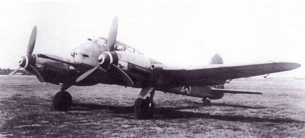 Messerschmitt Me 410B2 Hornisse USSR NII VV5 Ramienskoje Russia 1945 01