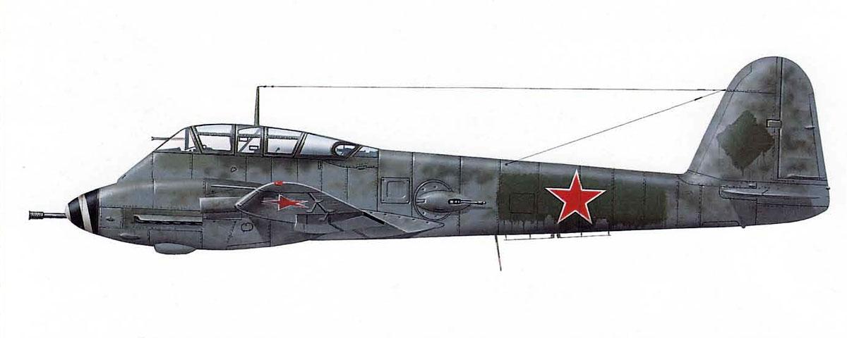 Messerschmitt Me 410B2 Hornisse USSR NII VV5 Ramienskoje Russia 1945 0A