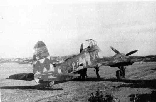 Messerschmitt Me 210C Hornisse RHAF 102 (ZD+20) 01
