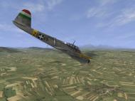 Asisbiz IL2 IM Me 210C Hornet RHAF 102.1 (Z0+65) Hungary 1944 V09