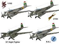 Asisbiz IL2 IM Me 210C Hornet RHAF 102.2 (Z0+99) Hungary 1944 V0A