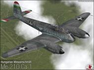 Asisbiz IL2 VP Me 210C Hornet RHAF 102.2 (Z0+99) Hungary 1944 V0A