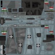 Asisbiz IL2 VP Me 210C Hornet RHAF 102.2 (Z0+99) Hungary 1944