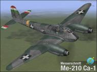 Asisbiz IL2 VP Me 210C Hornet RHAF RKI (Z0+63) Hungary 1944 V0A