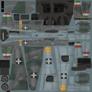 Asisbiz IL2 VP Me 210C Hornet RHAF RKI (Z0+63) Hungary 1944
