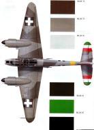 Asisbiz Messerschmitt Me 210C Hornisse RHAF NF5.1 (Z0+65) Hungary 1944 0A