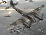 Asisbiz IL2 IM Me 210C Hornet 9.ZG1 (6U+NT) Germany 1944 V0A