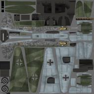 Asisbiz IL2 VP Me 210C Hornet 9.ZG1 (6U+NT) Germany 1944