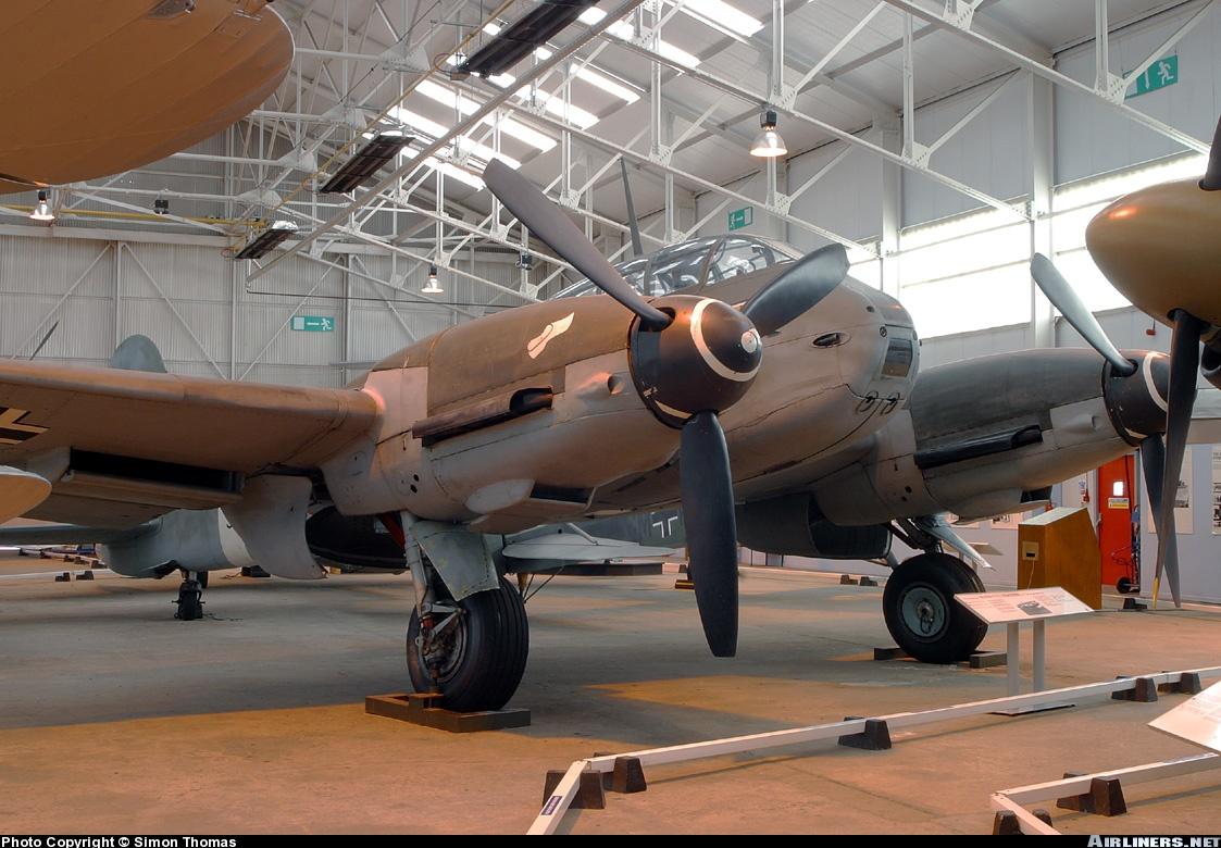 Messerschmitt Me 410B Hornisse Stab II.ZG26 (3U+CC) RAF Cosford Museum 02