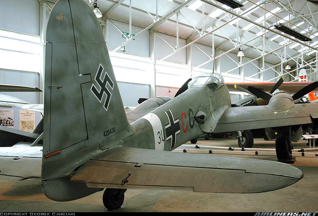 Messerschmitt Me 410B Hornisse Stab II.ZG26 (3U+CC) RAF Cosford Museum 06