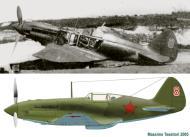 Asisbiz Mikoyan Gurevich MiG 1 31IAP Red 9 Kaunas airfield in Lithuania first days of war 1941 0A