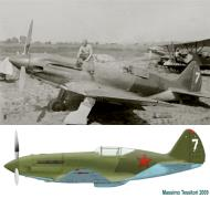 Asisbiz Mikoyan Gurevich MiG 1 unknown White 7 early Operation Barbarossa 1941 0A
