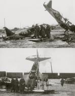 Asisbiz Mikoyan Gurevich MiG 1 unknown unit White 220 and 564 destroyed early Barbarossa 1941 01